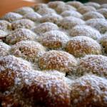 Crostata bubbolosa agli amarettir
